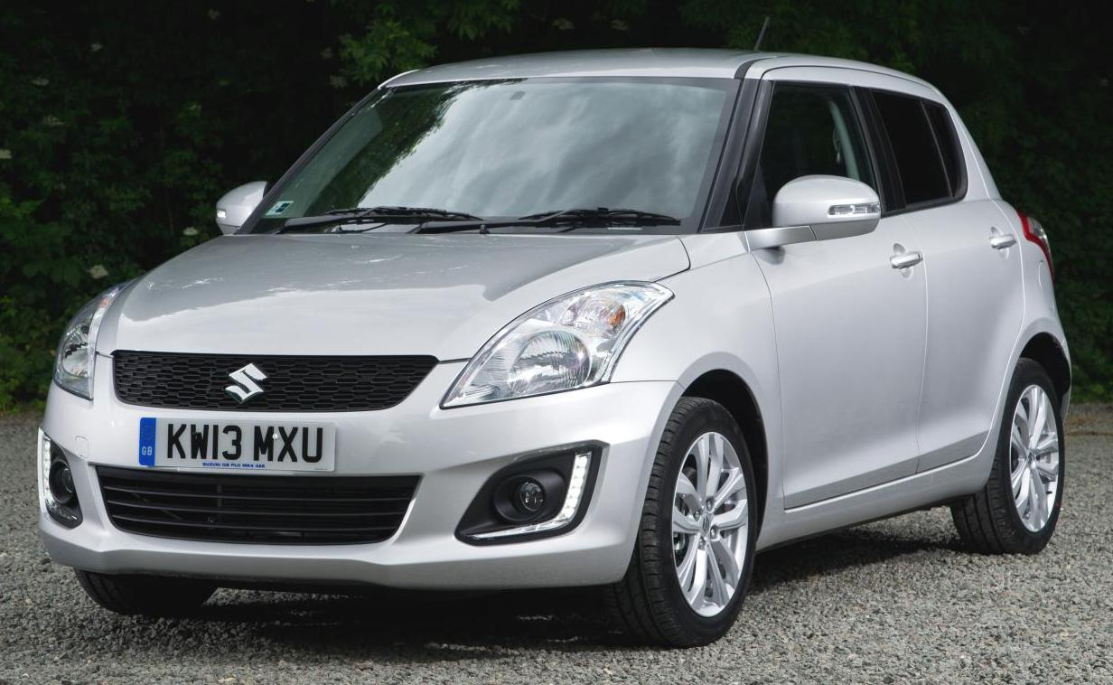 2014 Maruti Swift facelift with LEDs