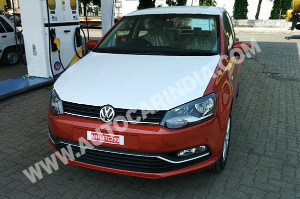 2014 Volkswagen Polo facelift front