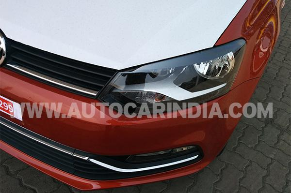 2014 Volkswagen Polo facelift grille and headlamp