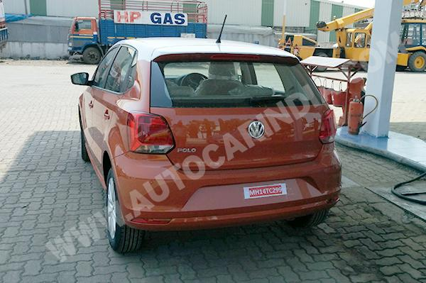 2014 Volkswagen Polo facelift rear