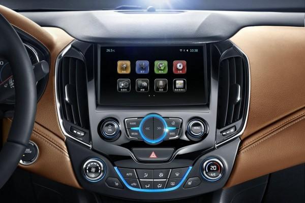 2015-16 Chevrolet Cruze music system