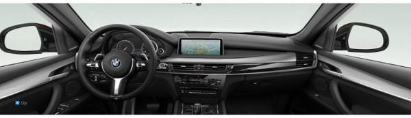 2015 BMW X6 M-Sport interior