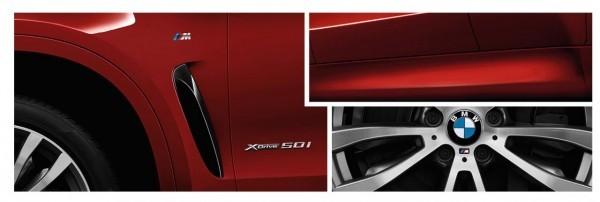 2015 BMW X6 M-Sport side