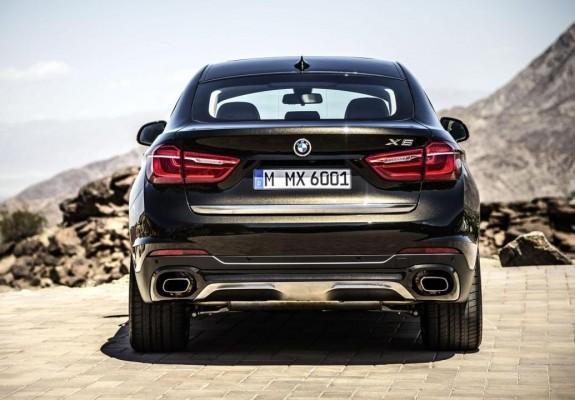 2015 BMW X6 rear