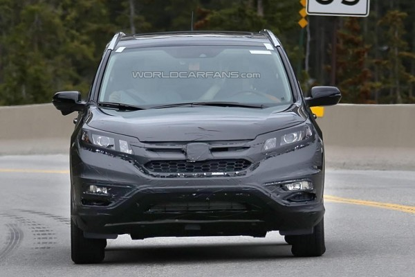 2016 Honda CR-V facelift front