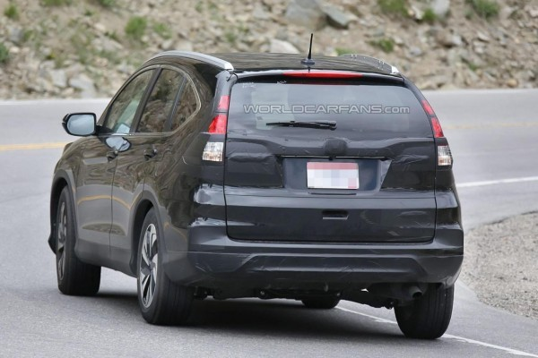 2016 Honda CR-V facelift rear