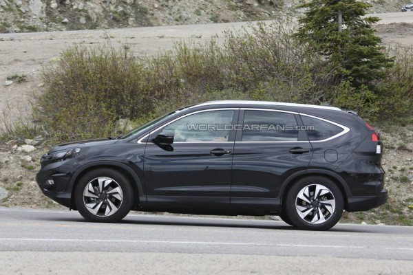 2016 Honda CR-V facelift side profile