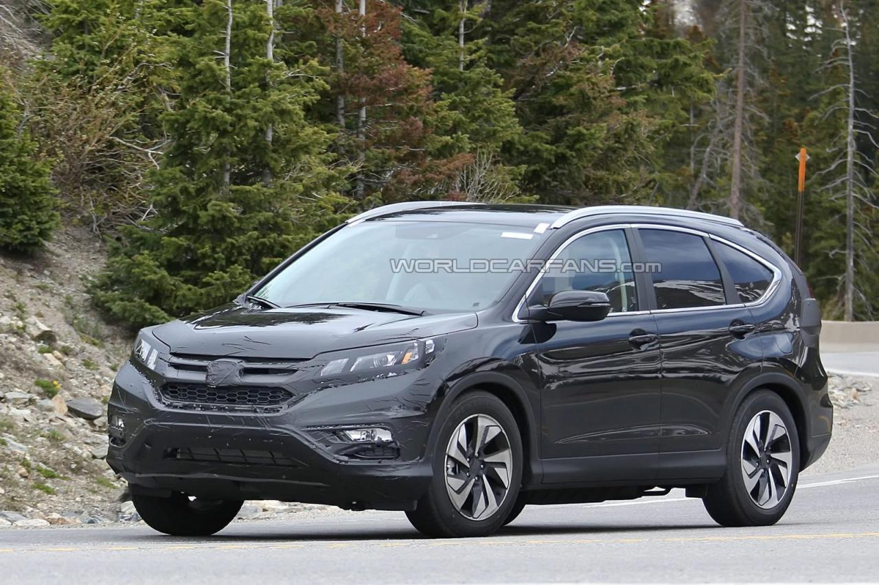 Spied- 2016 Honda CR-V facelift pictures and details - India Car News