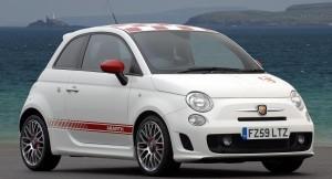 Fiat Abarth 500 side