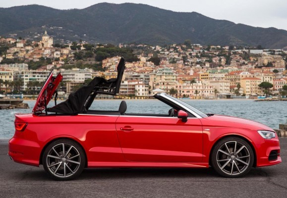 Audi A3 Cabriolet side profile