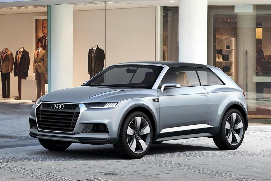audi q1 small suv launch in 2016. Black Bedroom Furniture Sets. Home Design Ideas