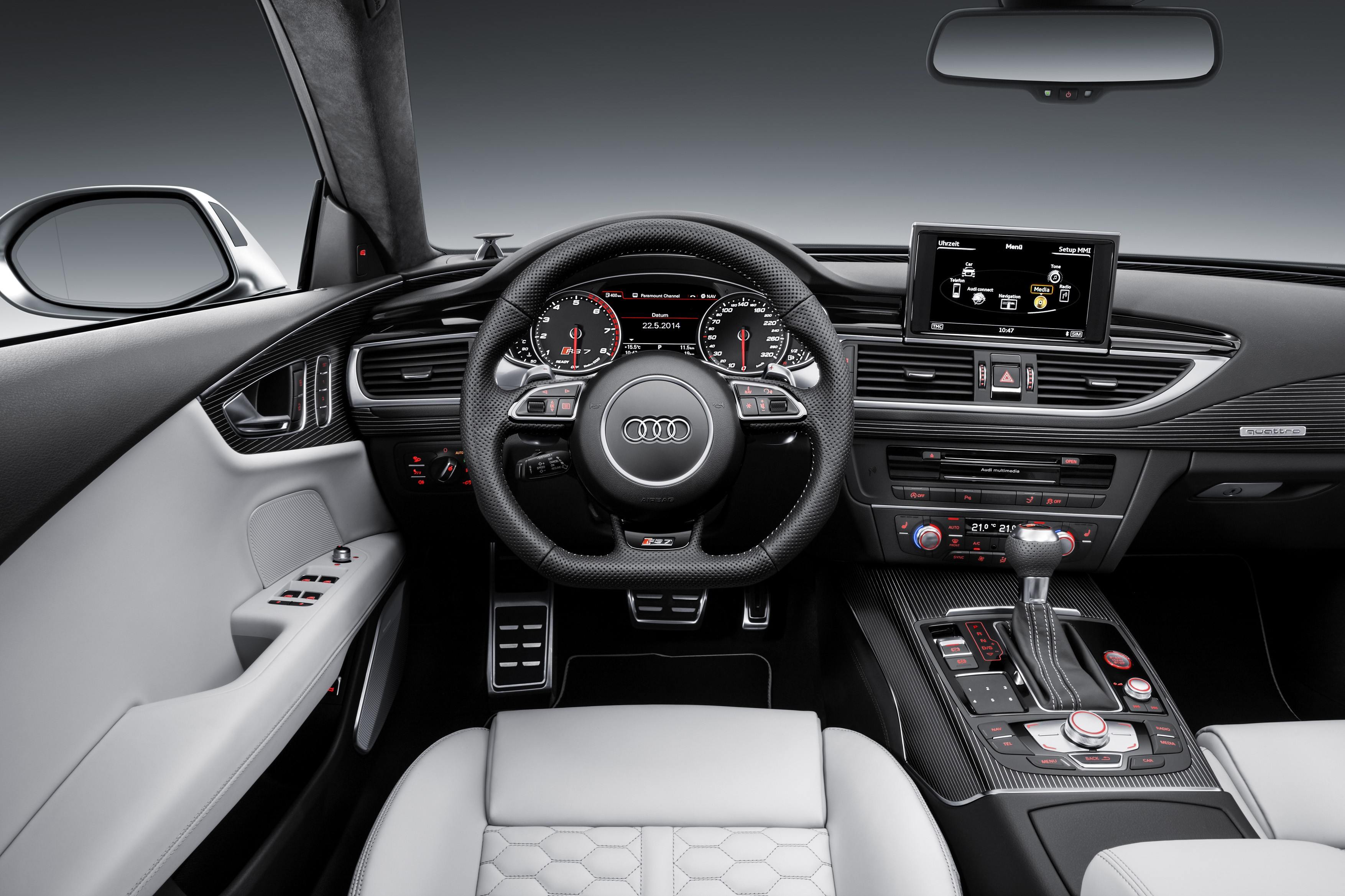 unveiled audi rs7 features specifications india car news. Black Bedroom Furniture Sets. Home Design Ideas