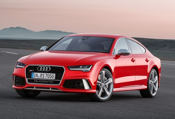 Audi RS7 facelift side profile