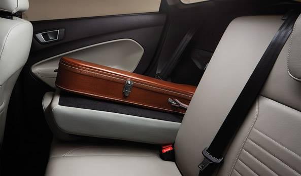 Ford Fiesta beige interior