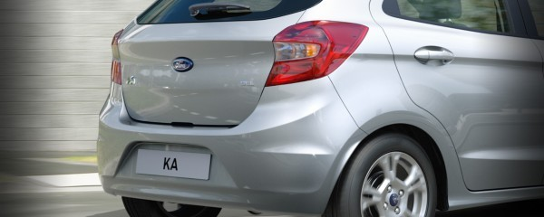 Ford Ka rear profile