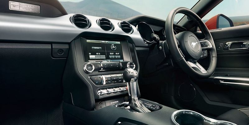 Ford Mustang India interior