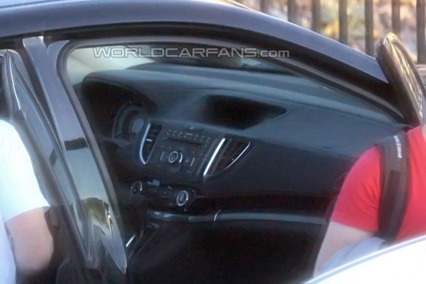Honda CR-V facelift interior