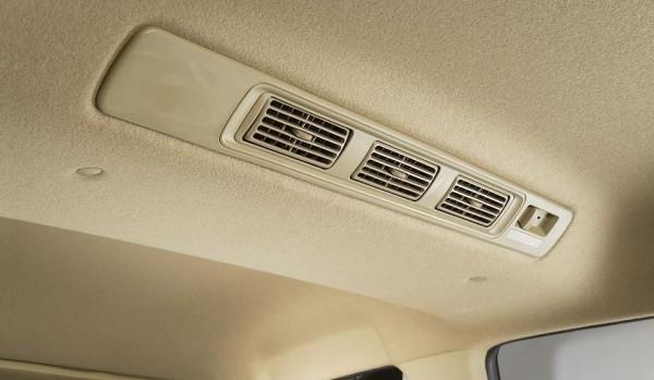 Honda Mobilio rear AC vents