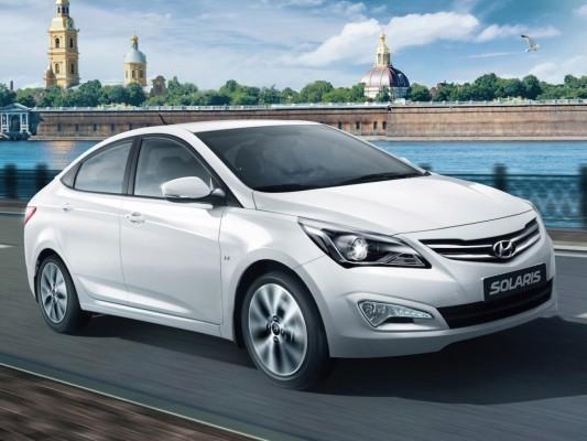 Hyundai Verna faceluft front