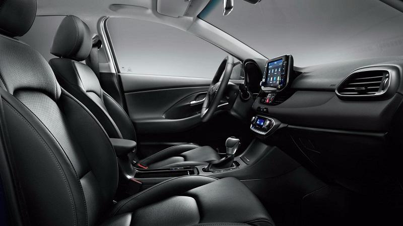 Hyundai i30 Interior black