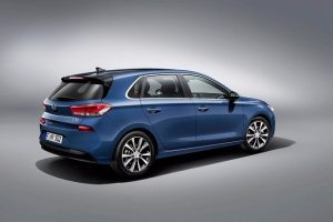 Hyundai i30 Rear Three Quarter