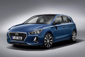 Hyundai i30 front three quarter