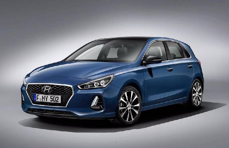 Hyundai i30 front three quarter