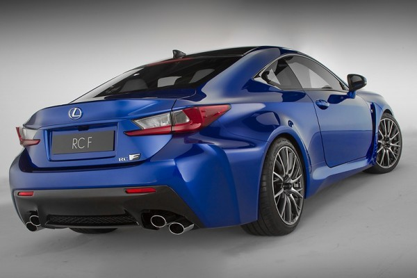 Lexus RC F Coupe rear