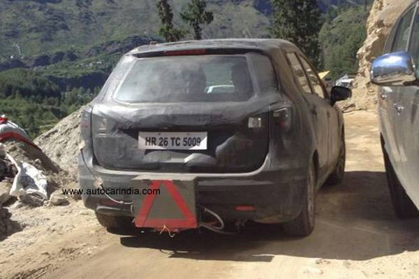 Maruti S-Cross SX4 rear profile
