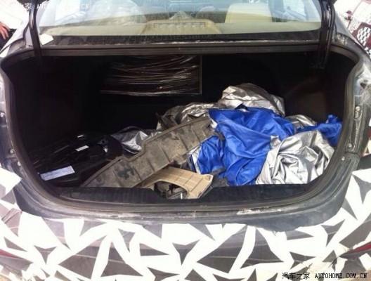 Maruti Suzuki Ciaz aka Alivio boot space