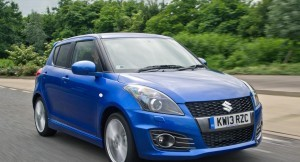 Maruti Swift Sport front