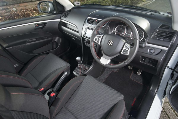 Maruti Swift Sport interior