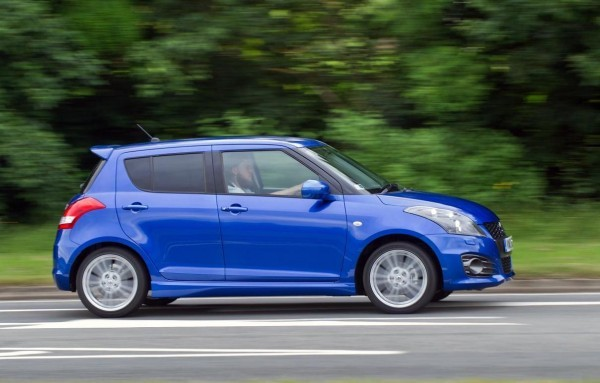 Maruti Swift Sport side profile