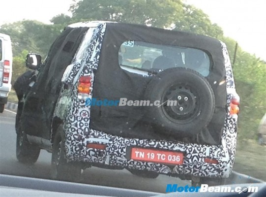 New 2016 Mahindra Bolero rear