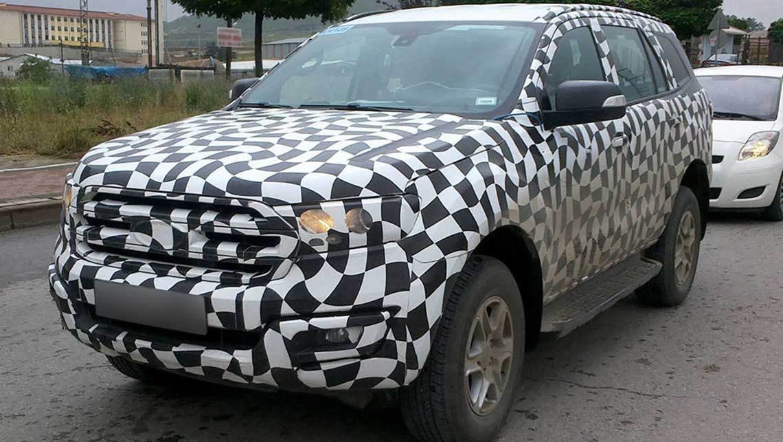Spied- New generation Ford Endeavour; India launch in 2015-16