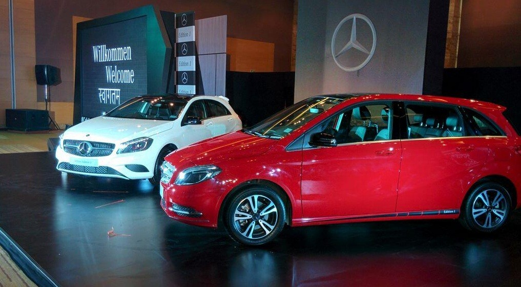 New Mercedes A-Class and B-Class Edition 1