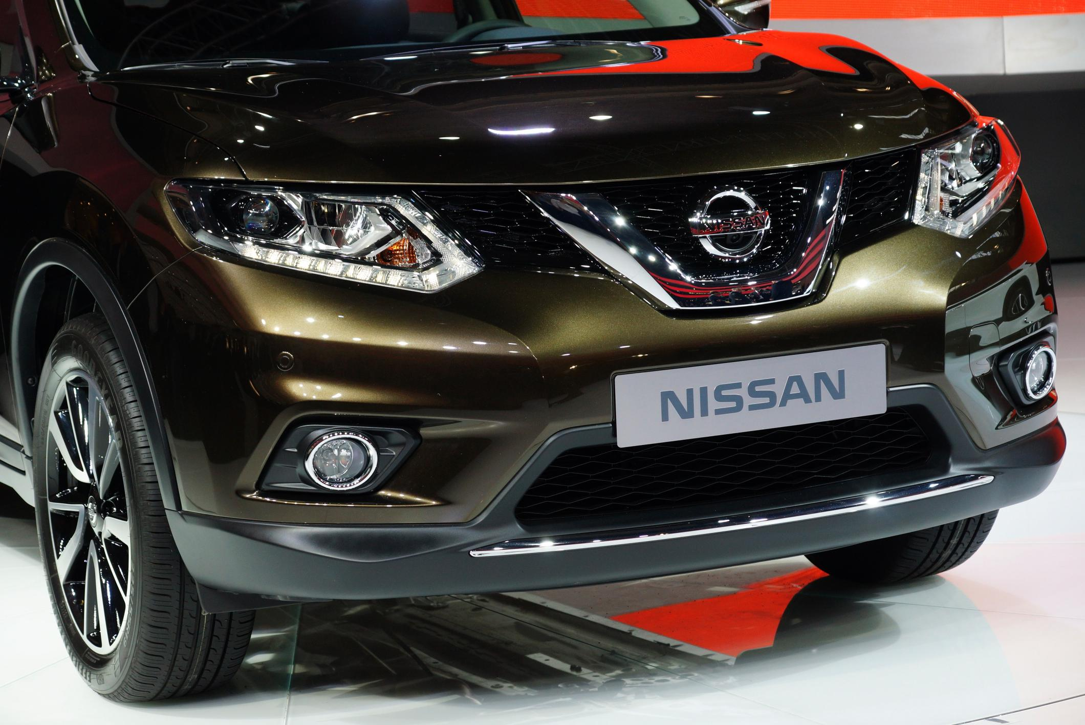 New Nissan X-Trail front grille