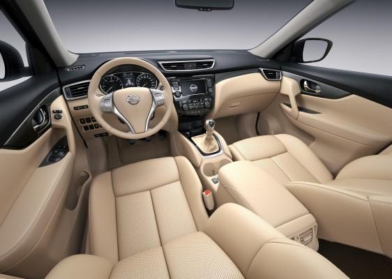 New Nissan X-Trail interiors