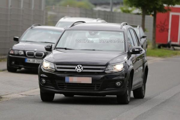 New Volkswagen Tiguan front