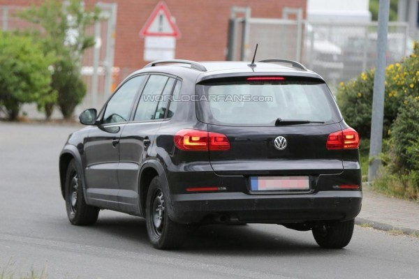New Volkswagen Tiguan tail lamps