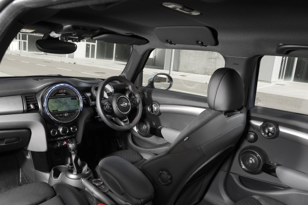 New five-door MINI interior