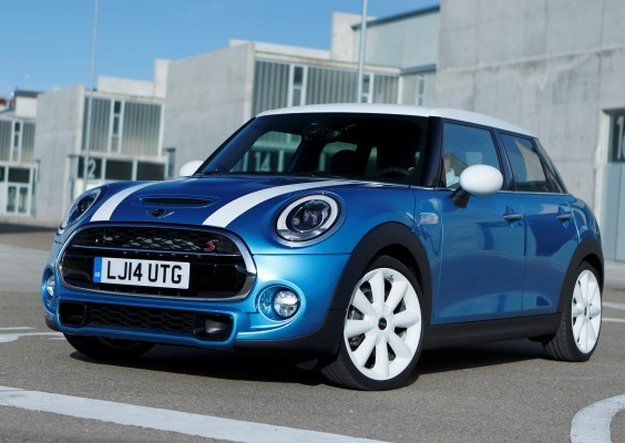 New five-door MINI side