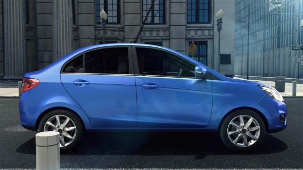 Tata Zest side profile