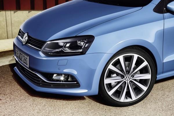 VW Polo facelift alloy wheels