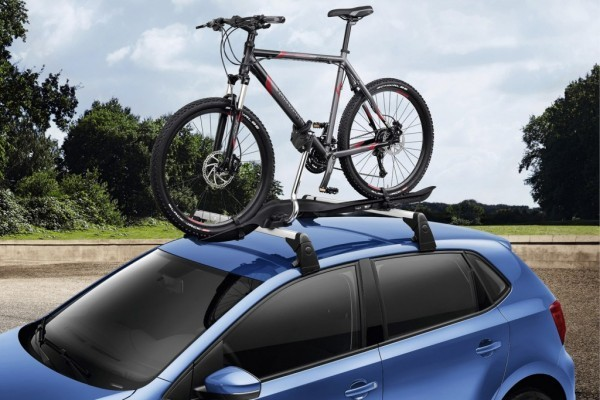 VW Polo facelift bicycle carries