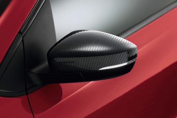 VW Polo facelift carbon wing mirror cap
