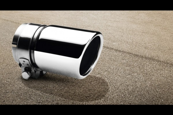 VW Polo facelift exhaust finisher