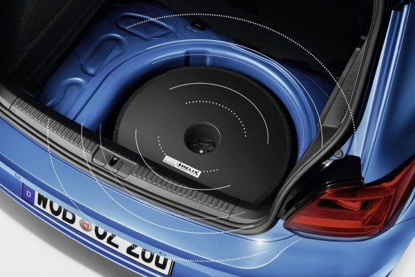 VW Polo facelift woofers