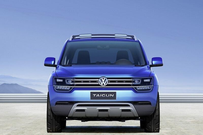 Volkswagen Taigun Compact SUV Front
