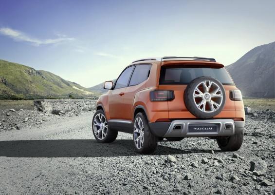 Volkswagen Taigun concept rear